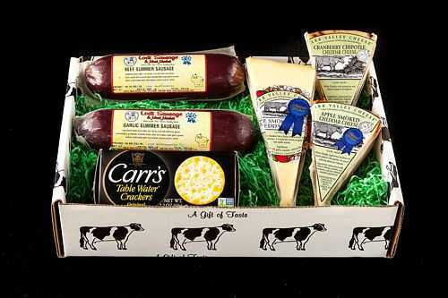 Local Carr Valley Cheese & Sausage Box